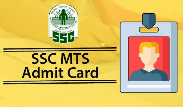 SSC MTS Admit Card 2020