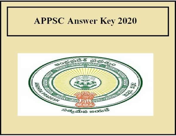 APPSC Answer Key 2020