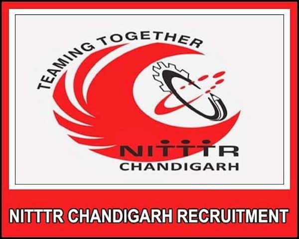 NITTTR Chandigarh Recruitment