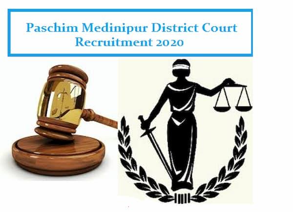 Paschim Medinipur Court Recruitment