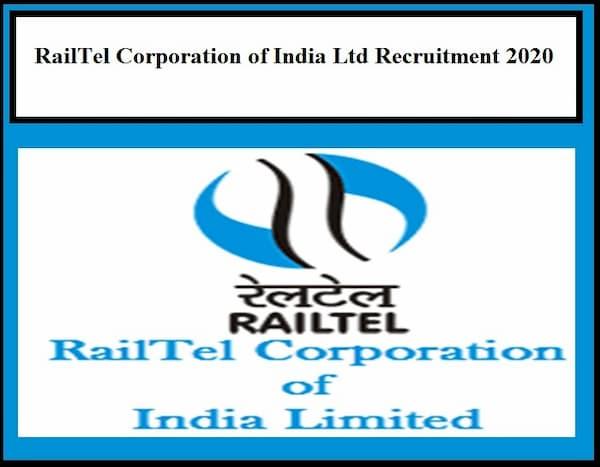 RailTel Recruitment 2020