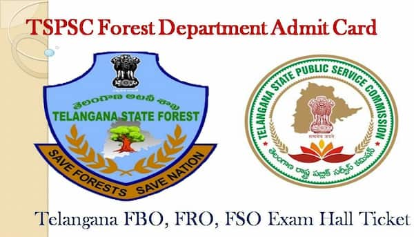 Telangana Forest Department Admit Card 2020
