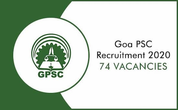 Goa PSC Recruitment 2020
