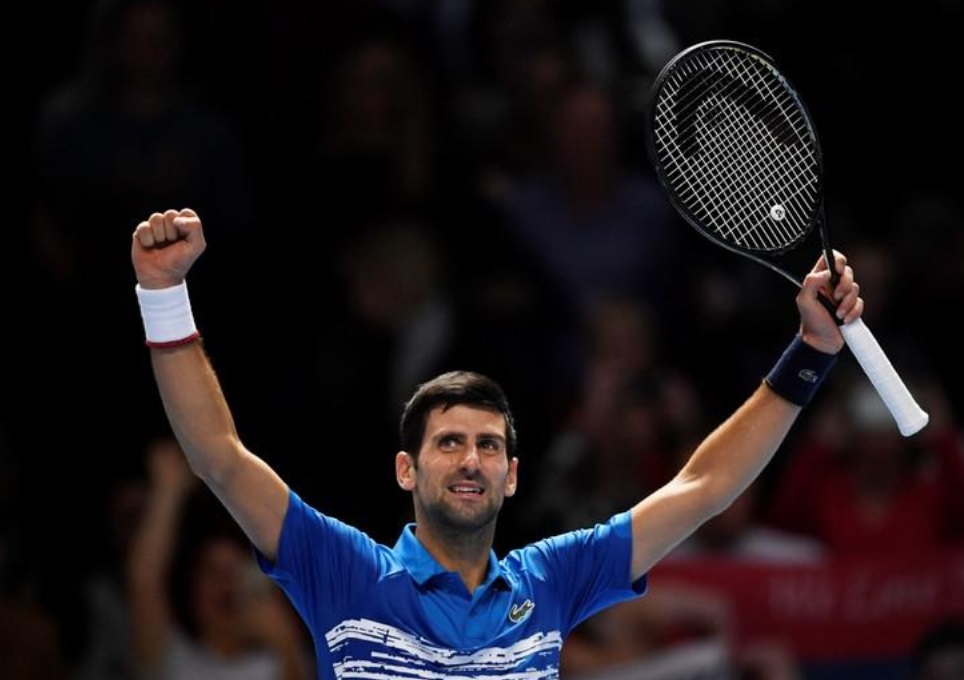 Djokovic defeats Berrettini in ATP Finals Open