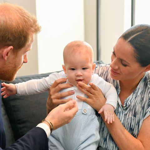 Prince Harry Meghan Markle Baby Archie Christmas Canada