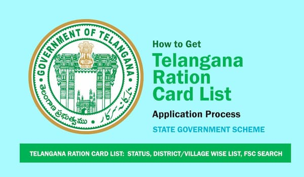Telangana New Ration Card List